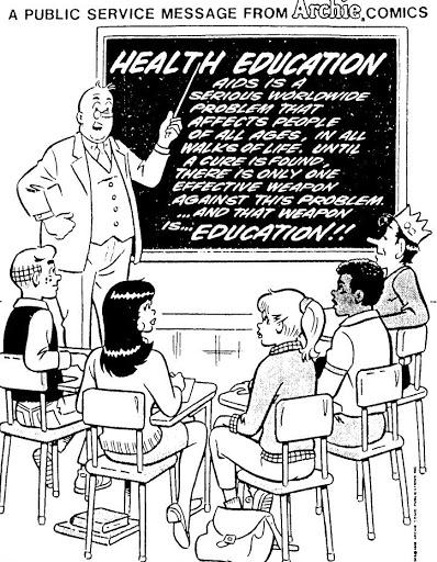 Un messaggio di pubblica utilità dalla Archie Comics