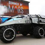 Una Batmobile su Marte