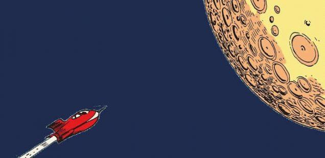La Luna secondo Carl Barks