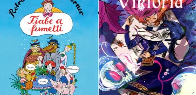 Novità in libreria #4: cinque fumetti per bambini in cinque righe!