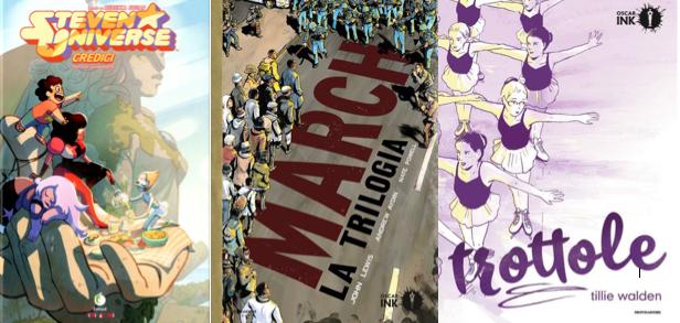 Novità in libreria #14: cinque fumetti per bambini in cinque righe!