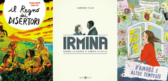 Novità in libreria #15: cinque fumetti per bambini in cinque righe!