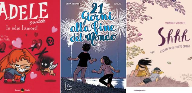 Novità in libreria #17: cinque fumetti per bambini in cinque righe!