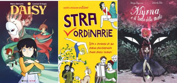 Novità in libreria #18: cinque fumetti per bambini in cinque righe!