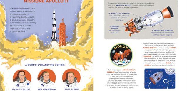 Terra chiama Luna! L'avvincente storia dell'Apollo 11 in un albo illustrato di divulgazione