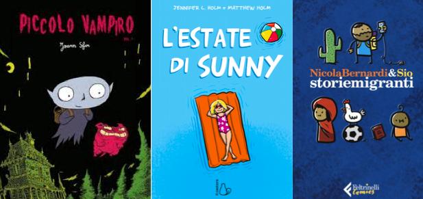 Novità in libreria #20: cinque fumetti per bambini in cinque righe!