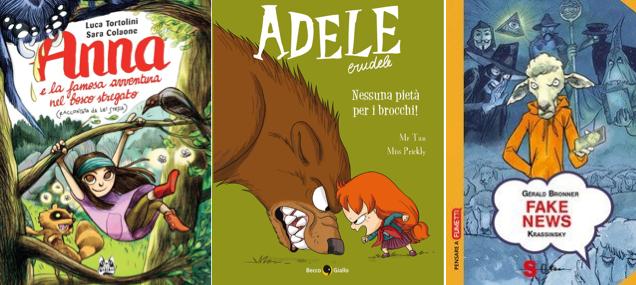 Novità in libreria #22: cinque fumetti per bambini in cinque righe!