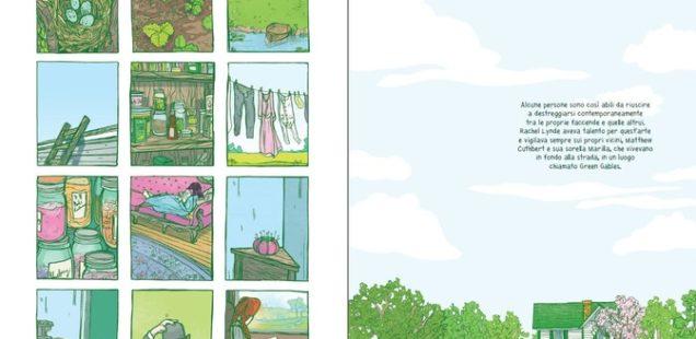 Classici a fumetti: Anna dai capelli rossi - il graphic novel