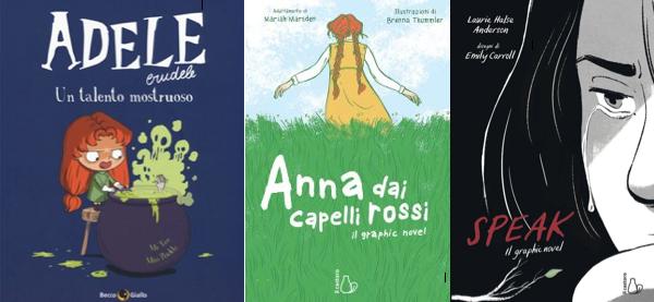 Novità in libreria #25: cinque fumetti per bambini in cinque righe!