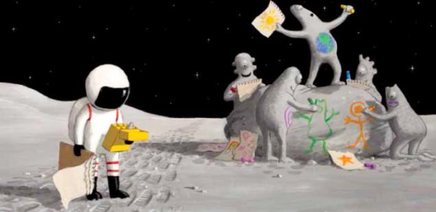 Gita sulla luna: un viaggio spaziale che lascia senza parole!