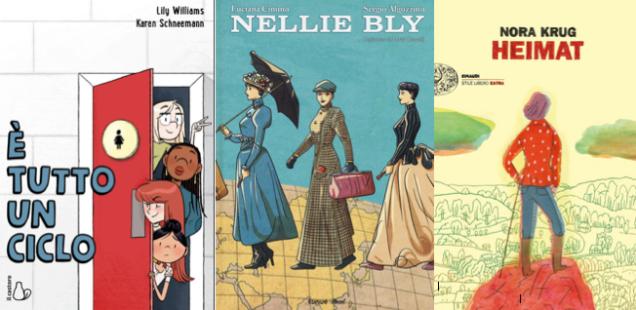Novità in libreria #29: cinque fumetti per bambini in cinque righe!