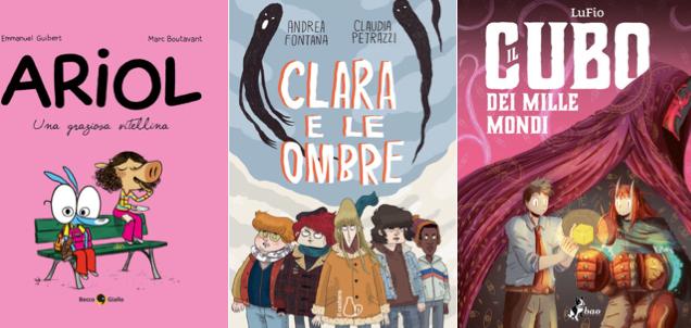 Novità in libreria #32: cinque fumetti per bambini in cinque righe!
