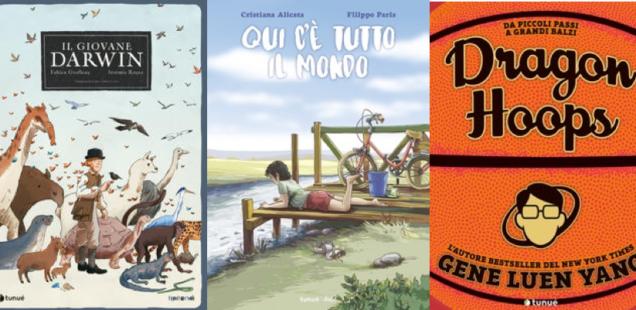 Novità in libreria #36: cinque fumetti per bambini in cinque righe!