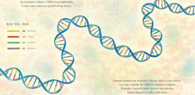 Cresco. I segreti del nuovo DNA: la nuova opera di Nicola Davies e Emily Sutton