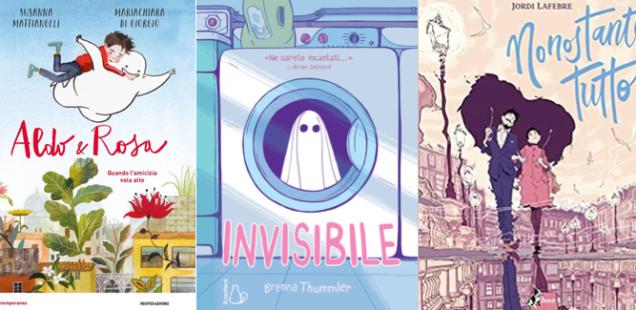 Novità in libreria #41: cinque fumetti per bambini in cinque righe!