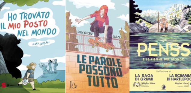 Novità in libreria #42: cinque fumetti per bambini in cinque righe!