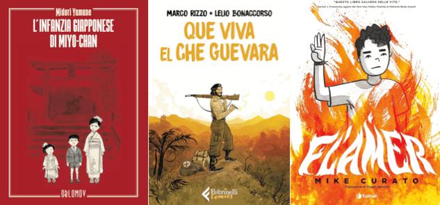 Novità in libreria #43: cinque fumetti per bambini in cinque righe!
