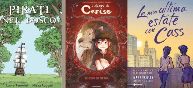 Novità in libreria #46: cinque fumetti per bambini in cinque righe!