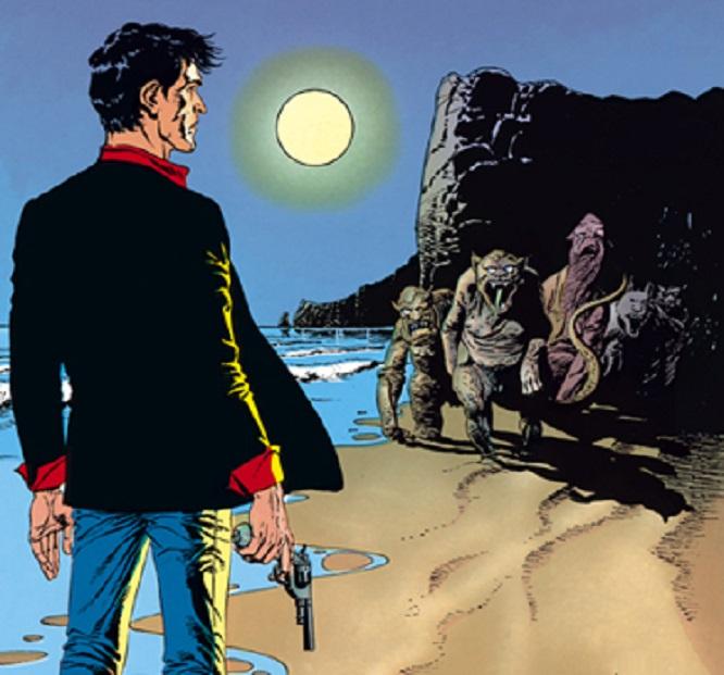 Dylan Dog e l'Isola di Wells