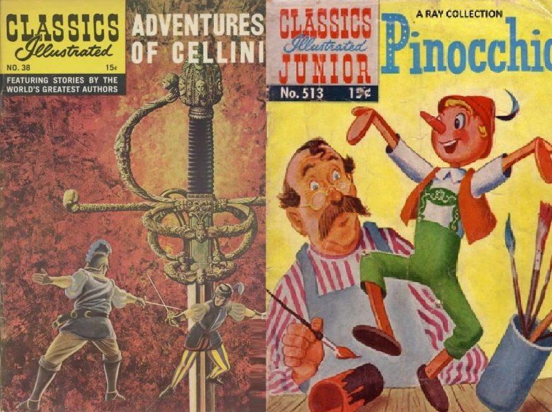 Educare in modo piacevole: i Classics Illustrated.