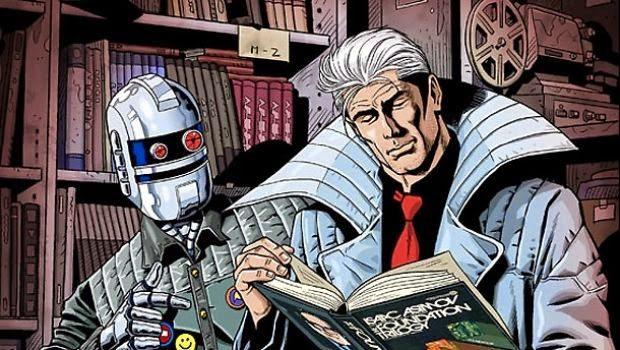 Nathan Never e la bibliofilia cyberpunk