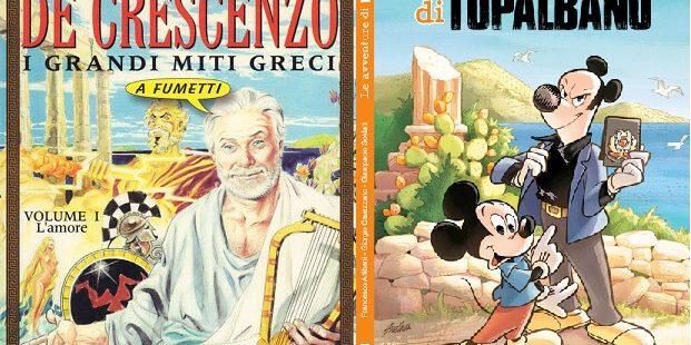 Camilleri e De Crescenzo, a fumetti.