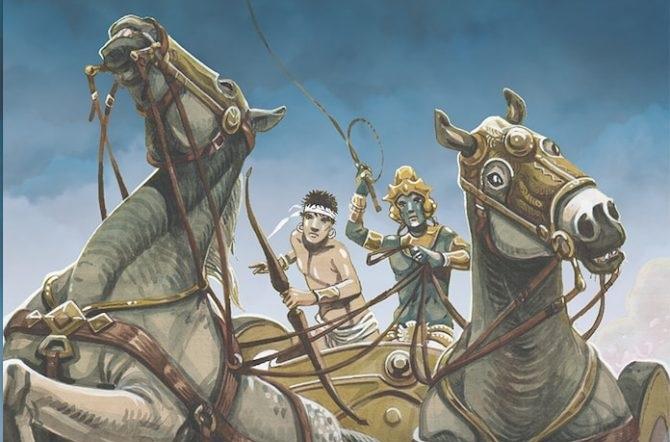 Mahabharata: la grande epica indiana a fumetti.