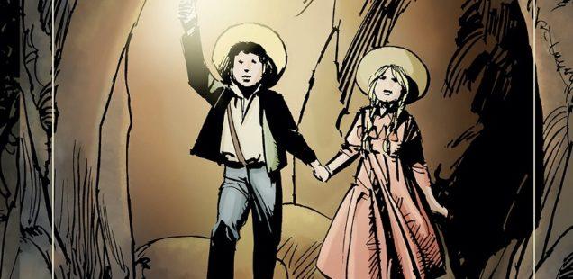 Tom Sawyer, il grande romanzo americano a fumetti