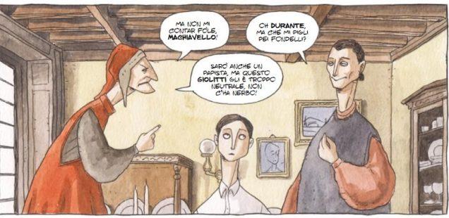 Renato Serra, un critico letterario a fumetti.