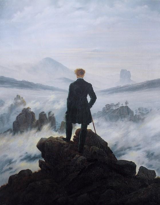 Viandante-sul-mare-di-nebbia-Caspar-David-Friedrich