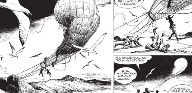 """""""L'isola misteriosa"""" di Nizzi e Caprioli"""