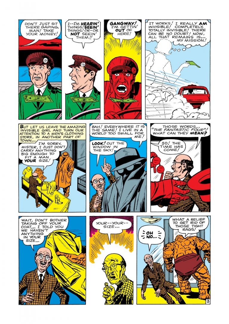 Fantastic Four 001-003
