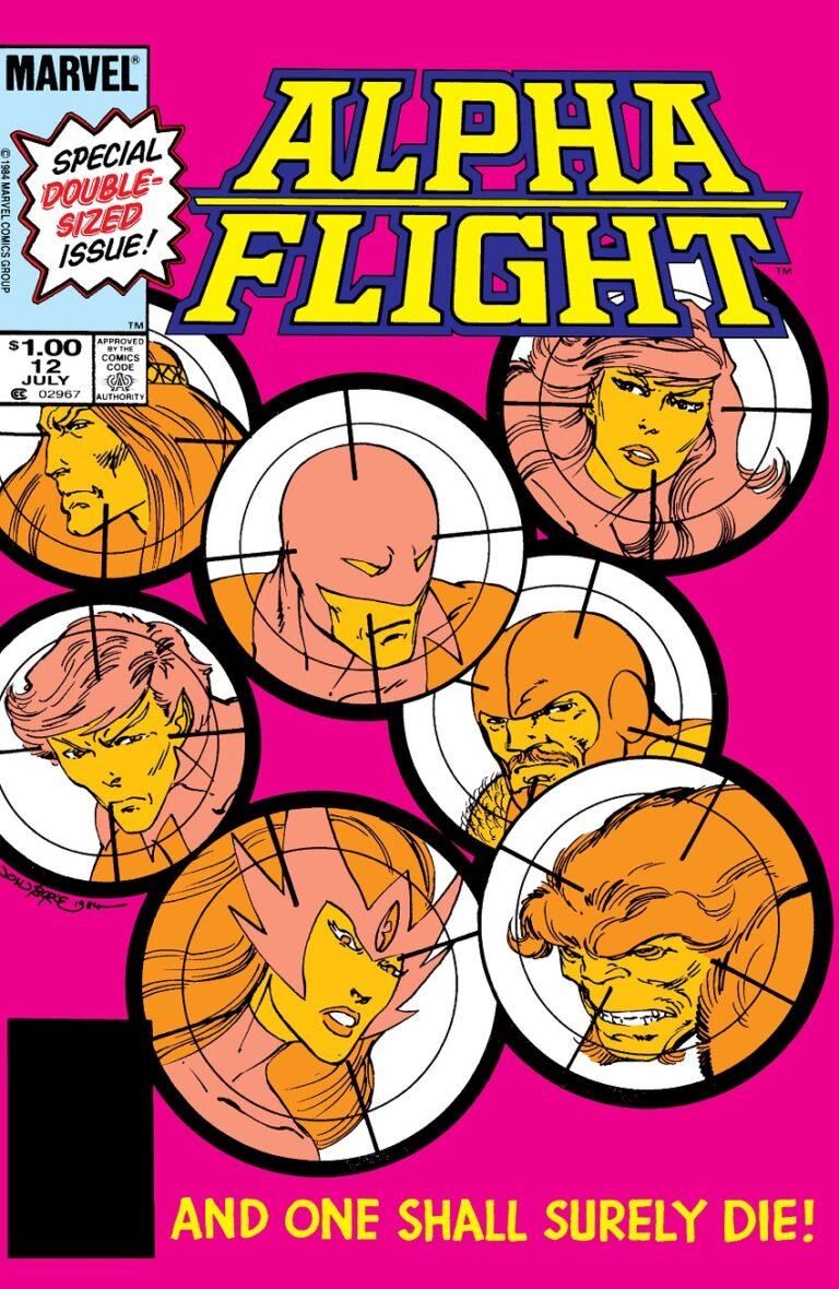 Alpha Flight cover 12