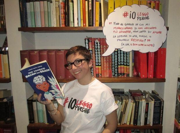 Angela Pansini: dieci fumetti per me! #ioleggoperché