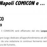 Vedi Napoli Comicon e...