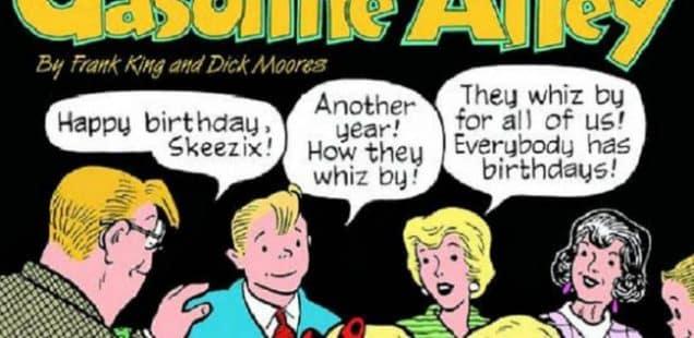 A cent'anni, Skeezix!