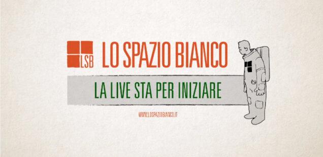 Lo Spazio Bianco LIVE: calendario aprile 2021