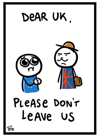 vignetta Europa Inghilterra