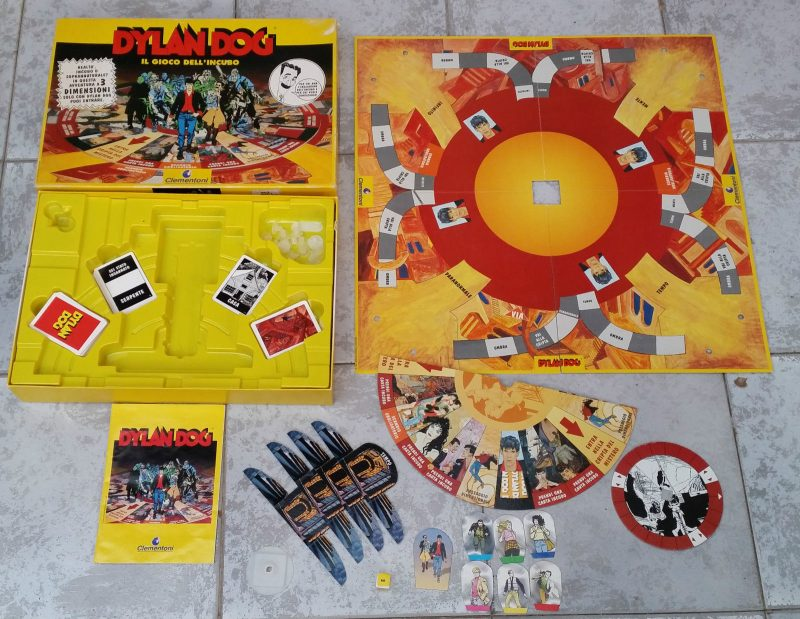 gioco di carte di Dylan Dog