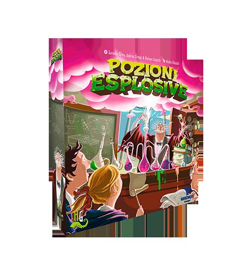 Gioco in scatola, pozioni esplosive, Lucca Comics 2016