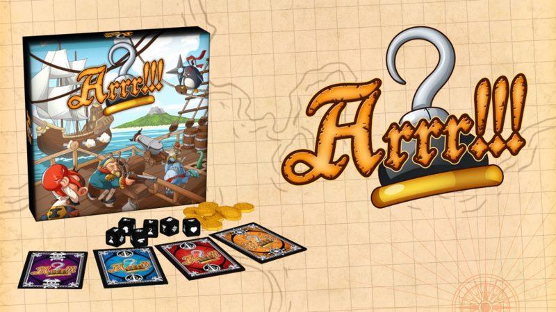 ARRR gioco di carte Lucca comics & Games