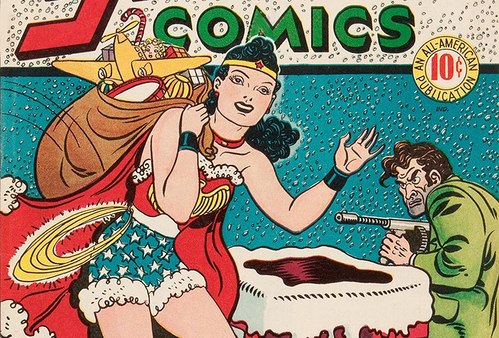 wonder woman sensation comics natale copertina