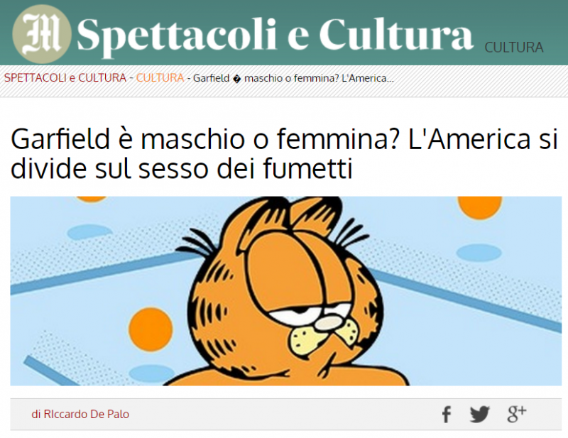 Il Messaggero contro il gender ambiguo dei fumetti