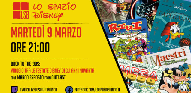 Lo Spazio Disney LIVE #6: anteprima