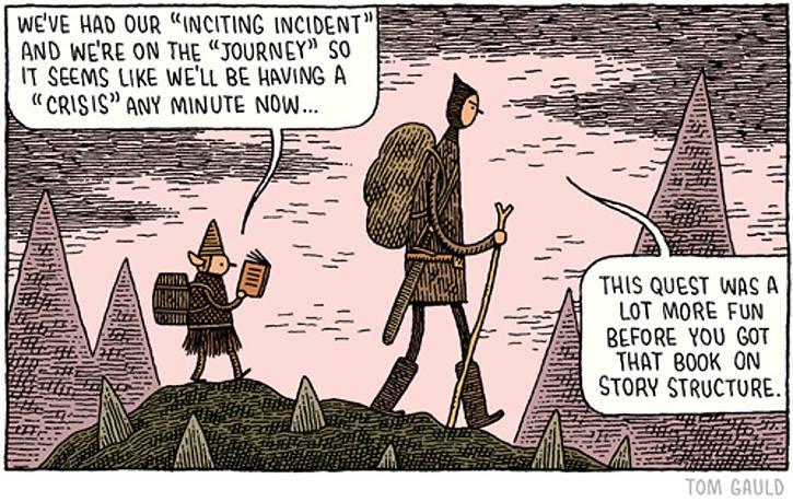 narrazione, fumetti