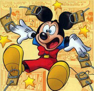 topolini mickey mouse disney panini