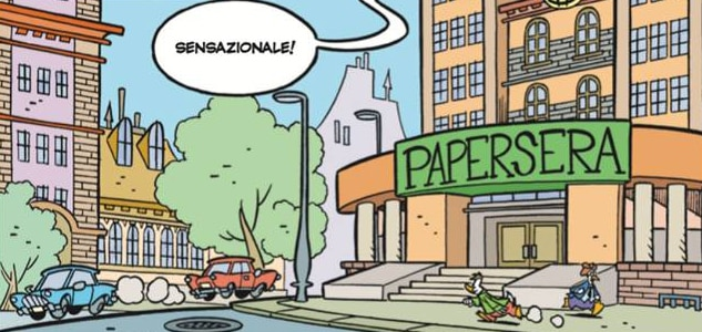 paperoga, grunfio