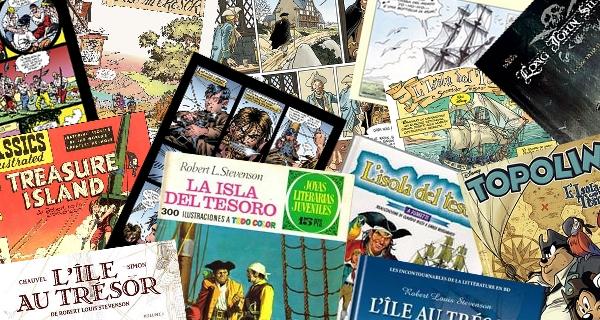 Versioni a fumetti Isola del Tesoro