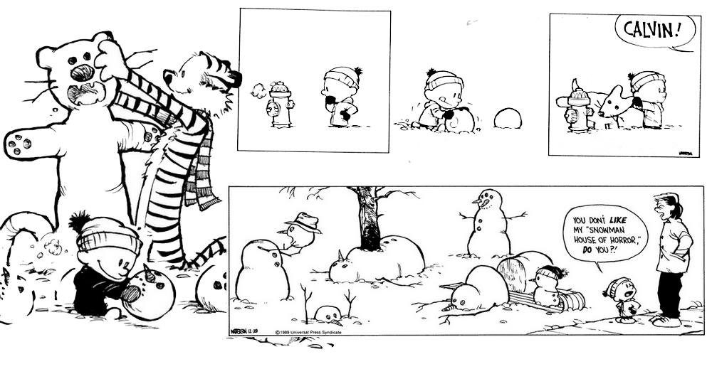 Neve Calvin & Hobbes
