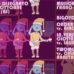 Segnalazione evento: concerto disegnato a Orzinuovi sabato 28 ottobre